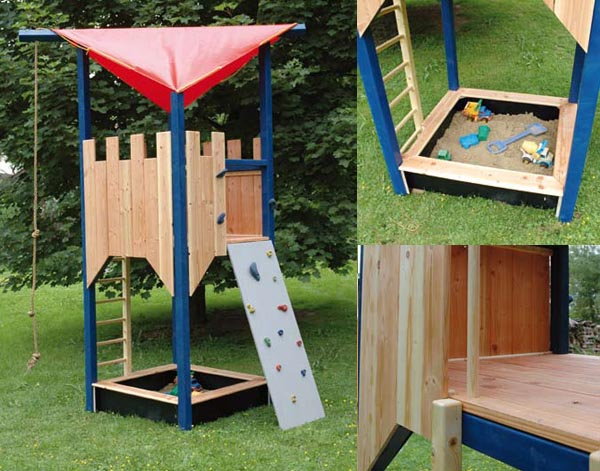 29 fantastic spielplatz im garten gestalten. Black Bedroom Furniture Sets. Home Design Ideas