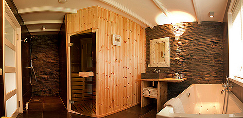 sauna im bad die perfekte wohlf hloase auf. Black Bedroom Furniture Sets. Home Design Ideas