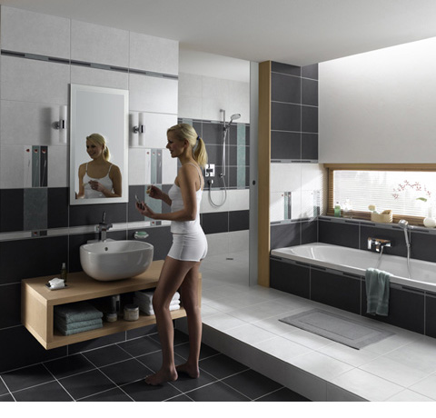 home bath on pinterest bath tubs showers and bathroom. Black Bedroom Furniture Sets. Home Design Ideas