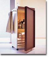 trolleys f r die mobile ordnung im badezimmer auf www. Black Bedroom Furniture Sets. Home Design Ideas